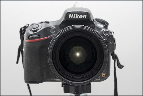 lens aperture f/16