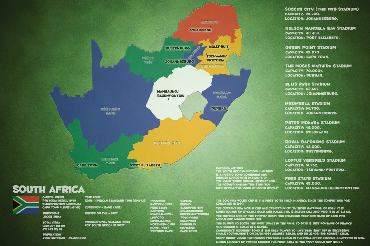 South Africa World cup facts