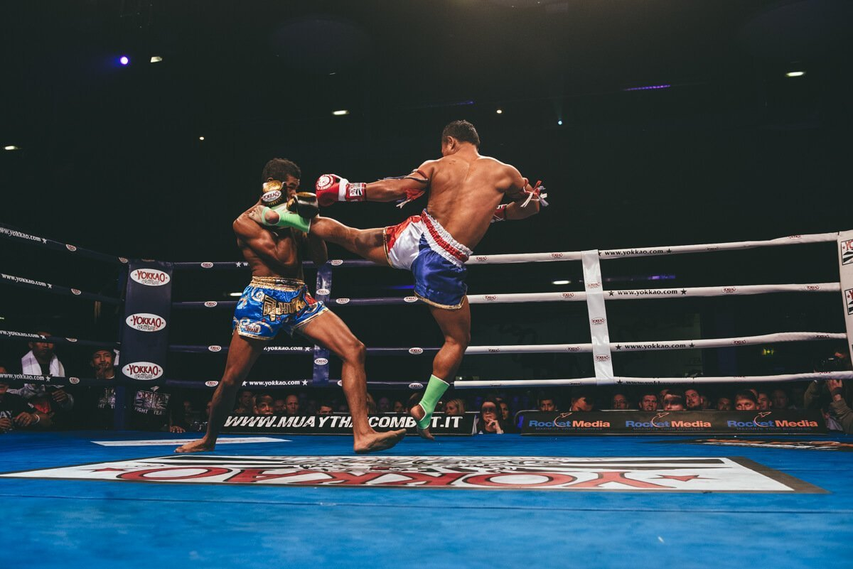 Yokkao mauy thai fight show in bolton photographs