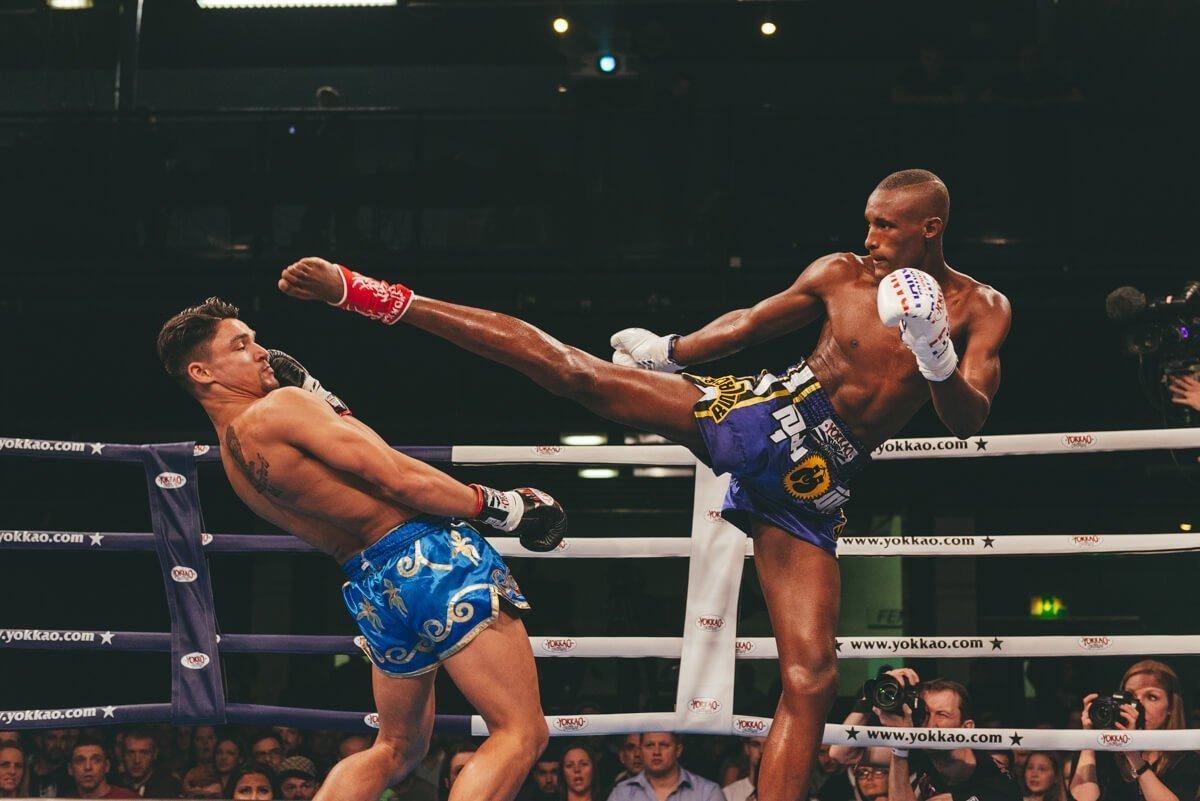 Yokkao mauy thai fight show in bolton photographs