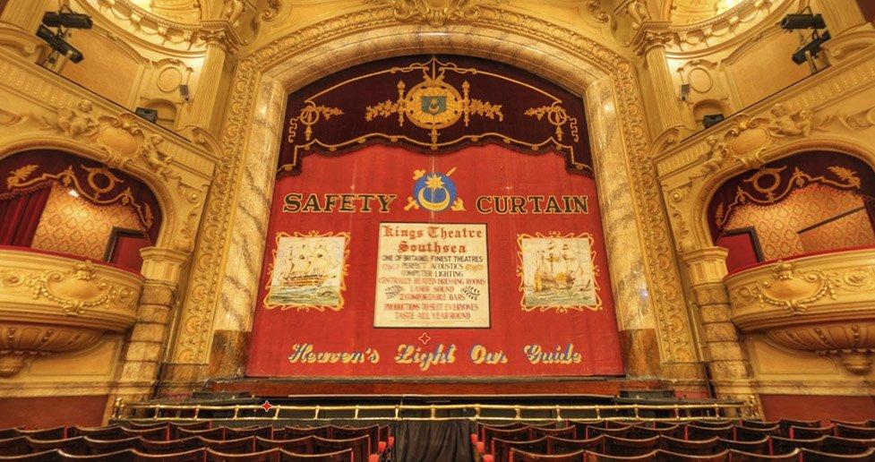 the kings theatre portsmouth virtual tour