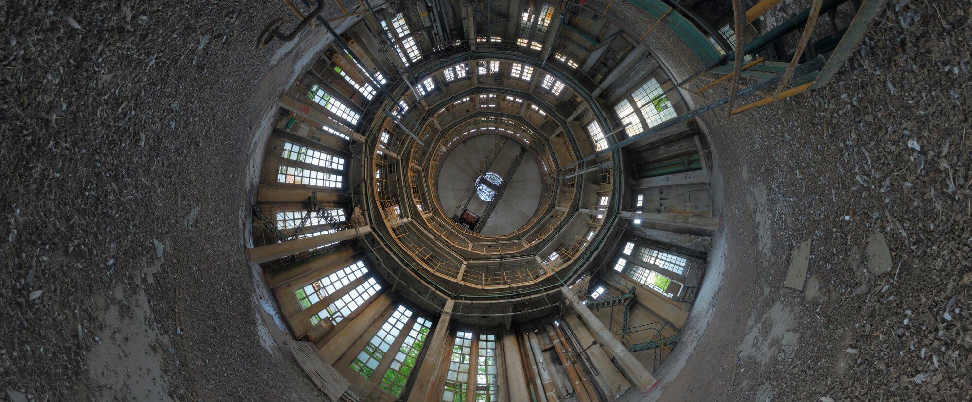 virtual tour urbex exploration power station