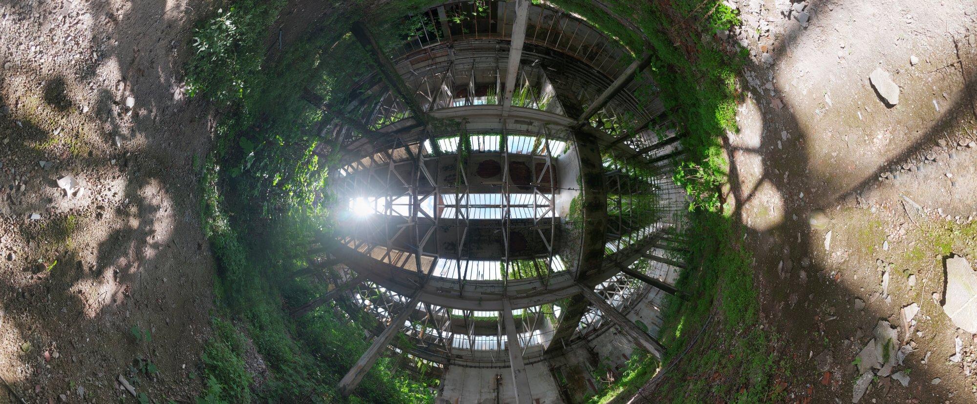 virtual tour urbex exploration warehouse