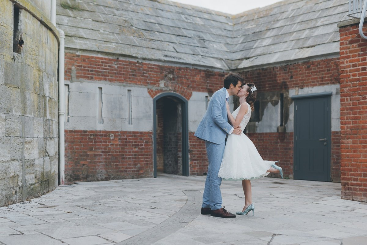 wedding photography from the square tower in portsmouth
