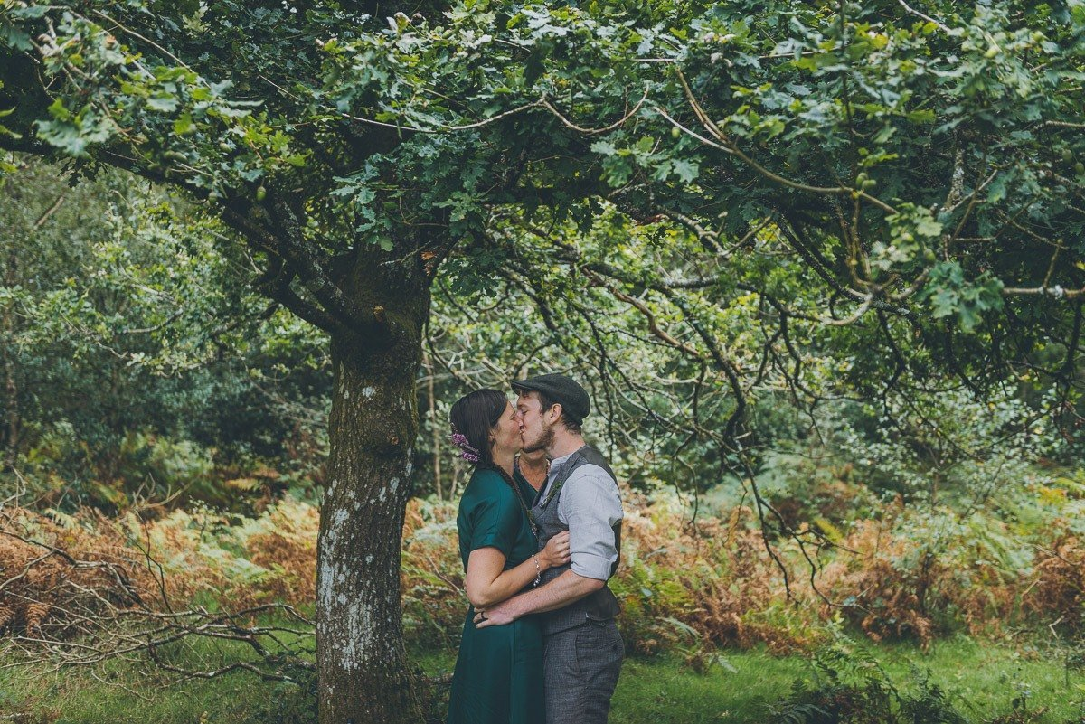 Emily and Tez wedding day pamber forest nature reserve
