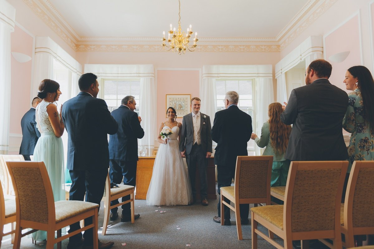 wedding photography from Basingstoke Registry Office.