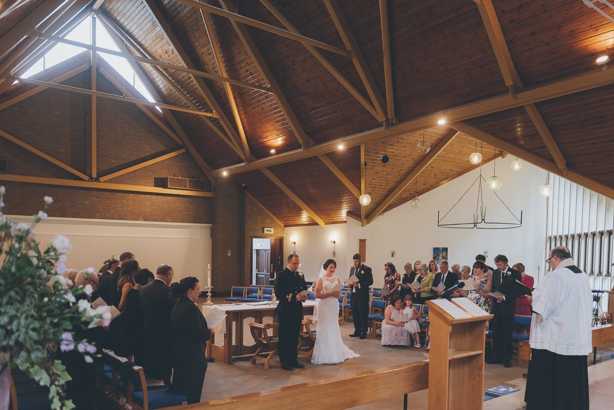 wedding photography from dday memorial hall in Southwick