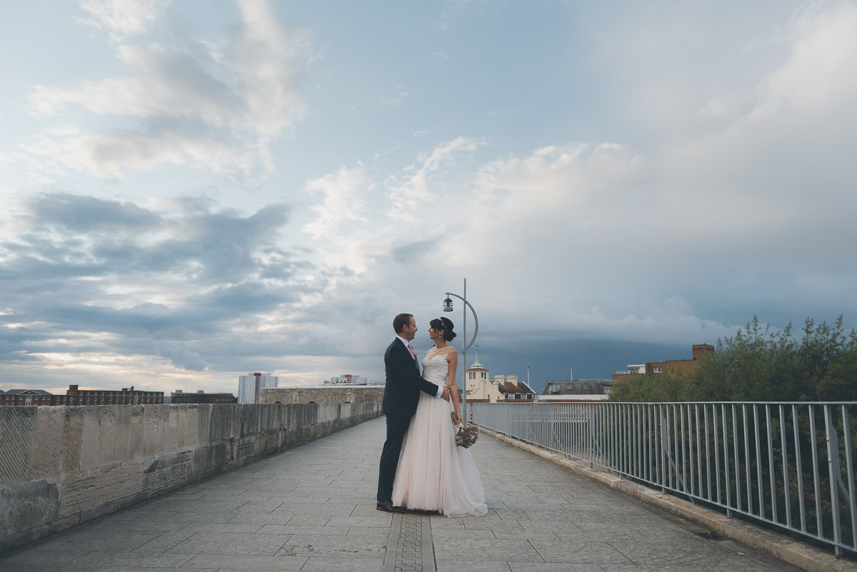 Sammi and Lee | Square Tower, Portsmouth, Hampshire 1