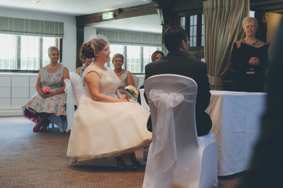 wedding photography from the mercure box hill burford bridge hotel